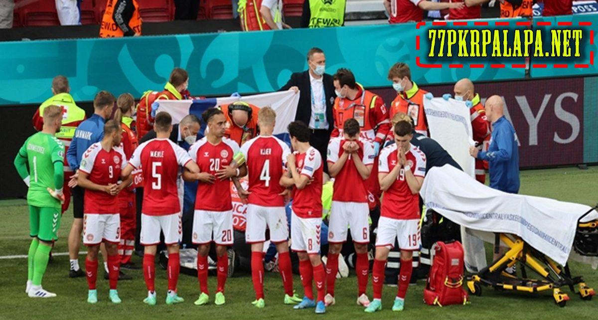 Christian Eriksen Kolaps Ditengah Lapangan